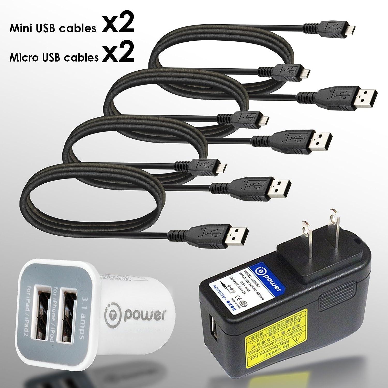 T-Power (6 en 1 combo) alta (2 amperios) 2 A rápido juice-up ...