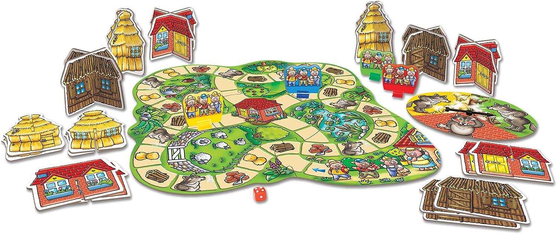 Orchard Toys - Juego de Mesa de los Tres Cerditos: Amazon.es: Juguetes y juegos