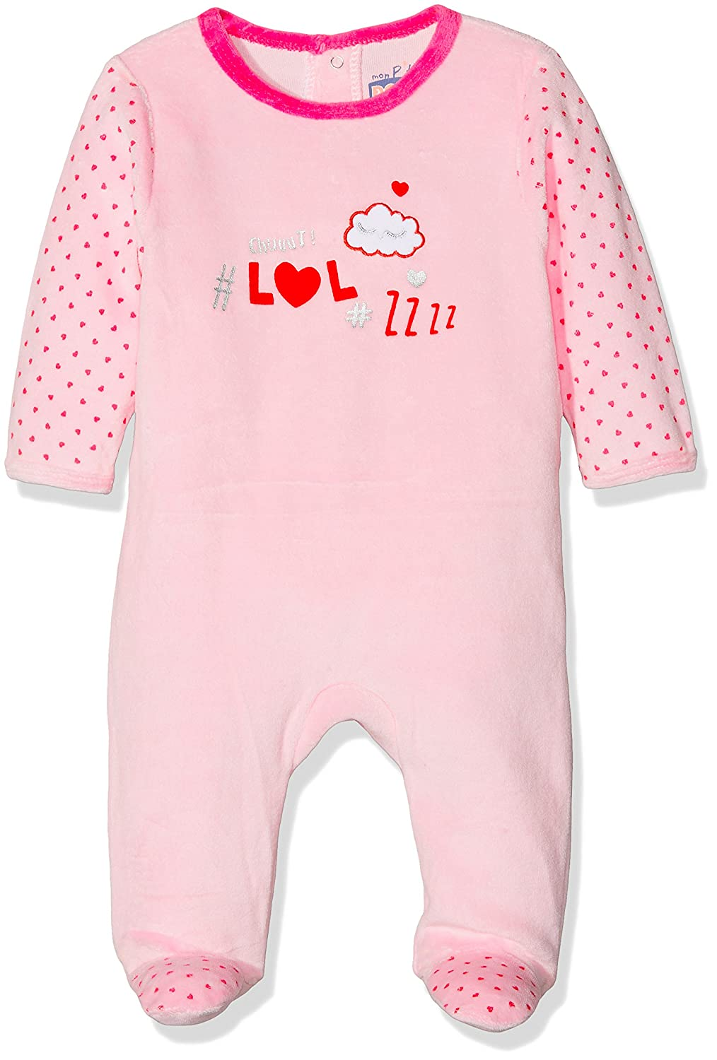 Dodo Homewear Baby Girls' Lfd.Sleep.Grv Onesie