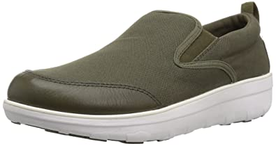 77bb70e90 FitFlop Men s Loaff Skate in Canvas Sneaker