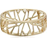 "Kenneth Cole New York ""Blue Rays"" Geometric Cut-Out Stretch Bracelet, 2.2"""