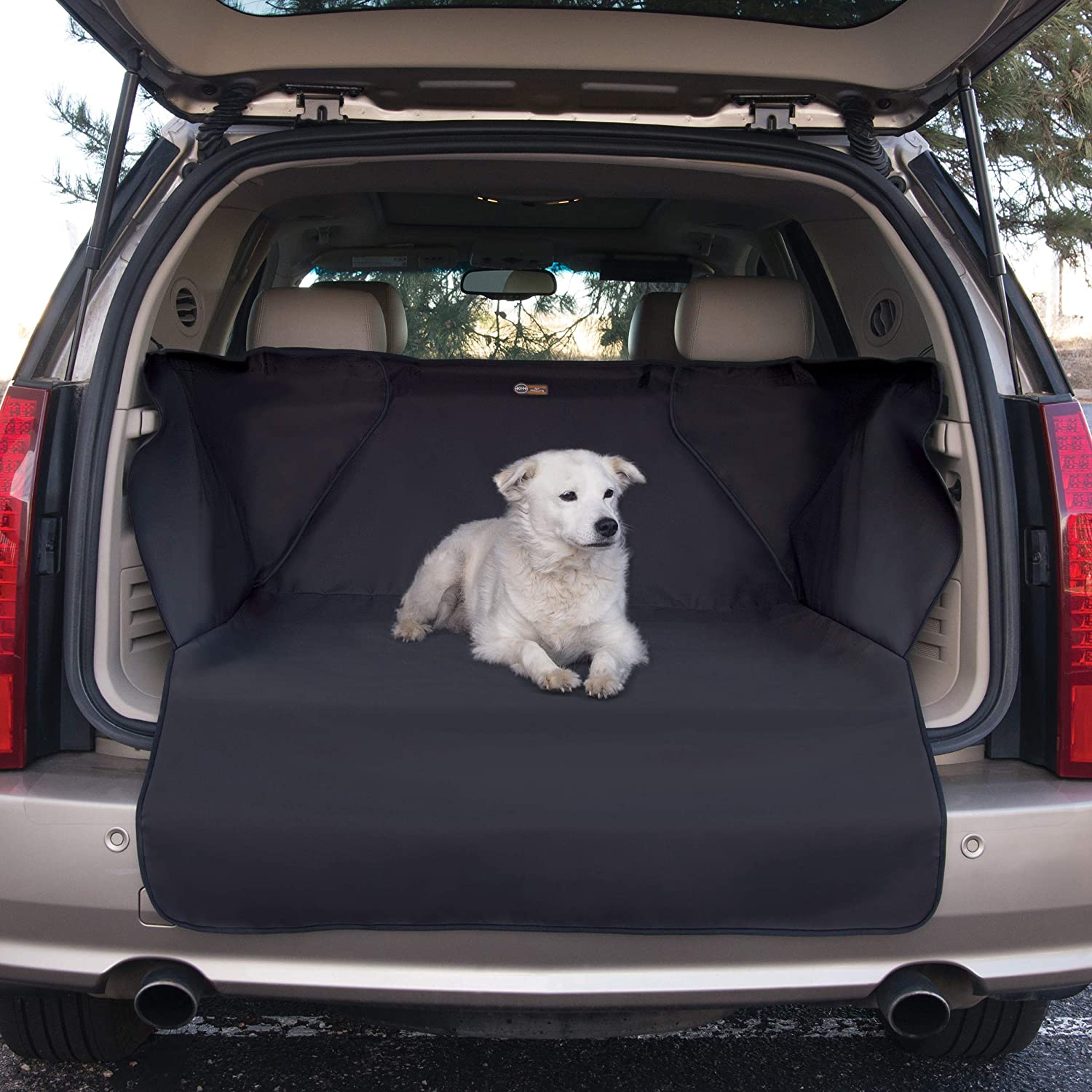 K H Pet Products Quilted Cargo Pet Cover Protector for Dogs – Cargo Liner with Side Wall Protectors