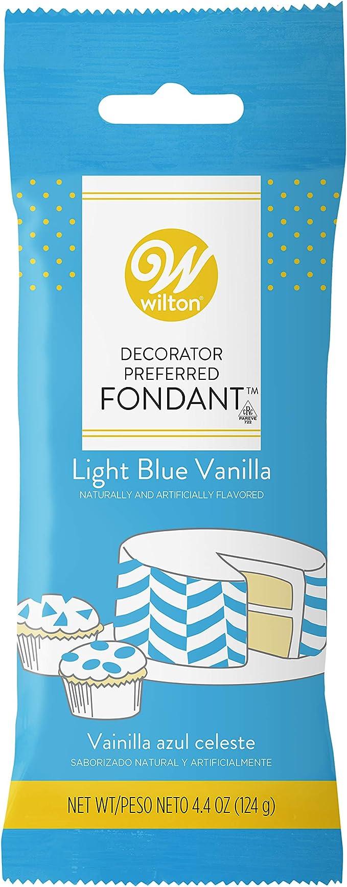 Blue Wilton Decorator Preferred 250g Fondant