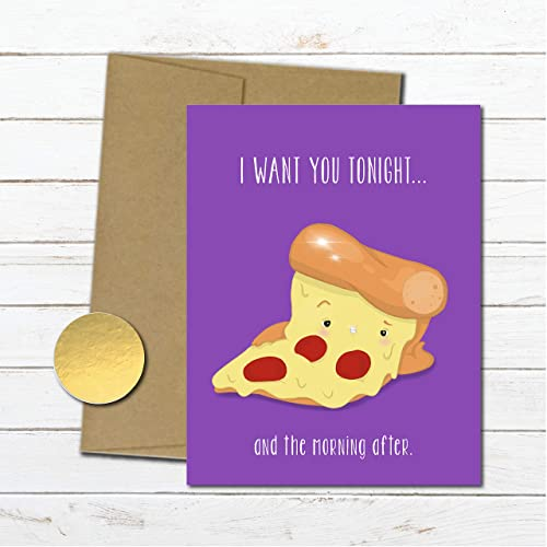 Amazon Dirty Pizza Card For Him Anniversary Gifts Men