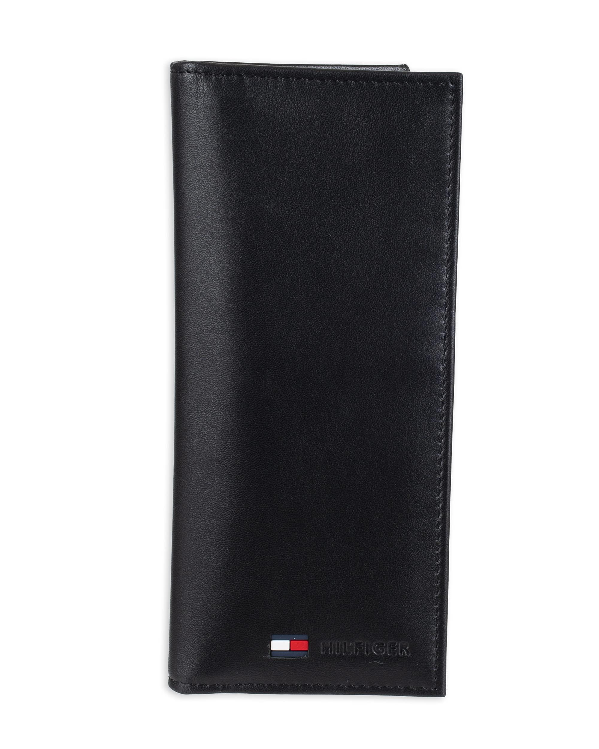Men's Polished Lamb Pocket Secretary Wallet