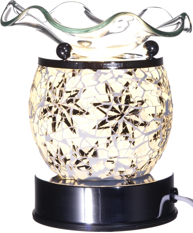 ガラスElectricアロマランプハロゲン電球とディマースイッチ B076925QFX