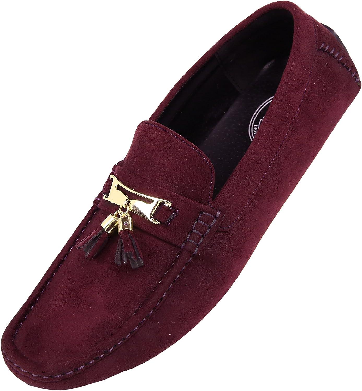 Amali Dyer Moccasins for Men – Slip on Shoes Mens Slippers - Loafers for Men, Casual Shoes for Men, Driving Shoes for Men, Designer Shoes for Men