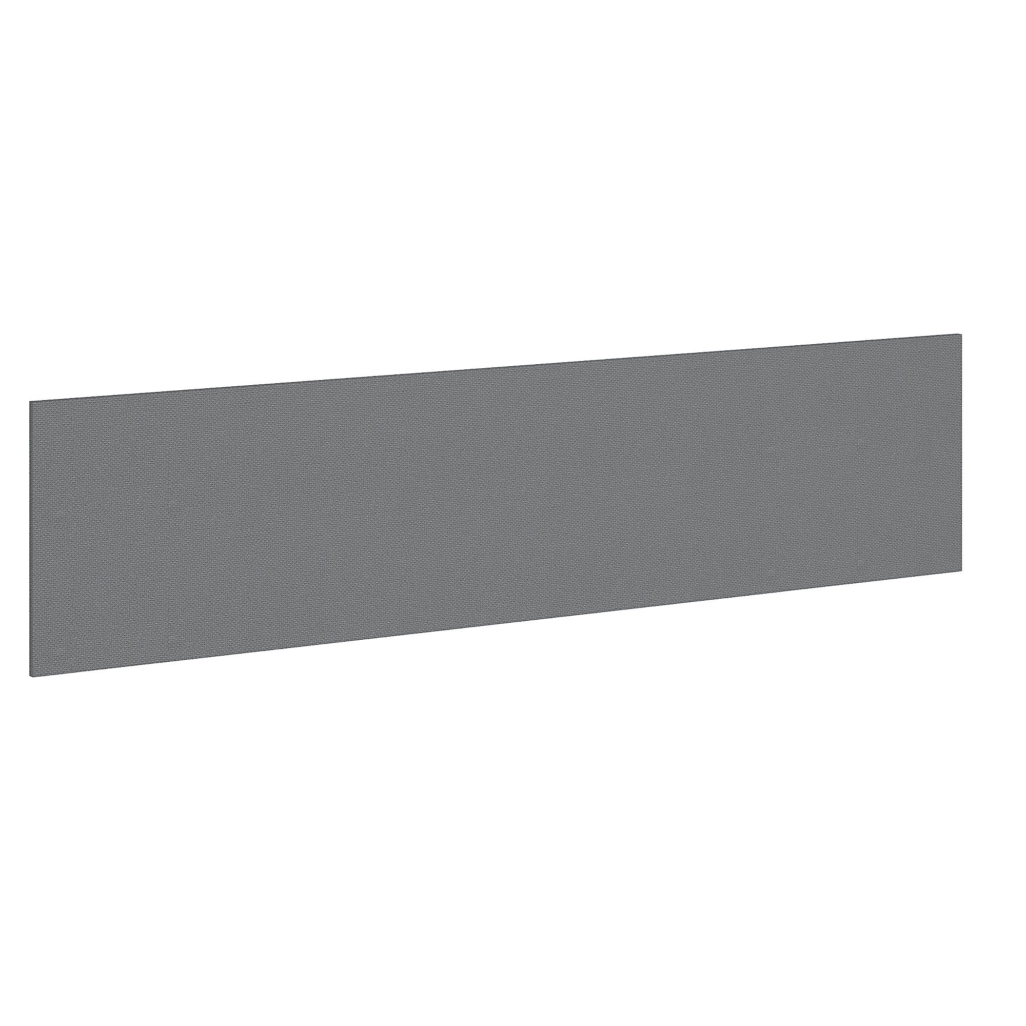 Bush Business Furniture Studio C 72W Tack Board in Smoke