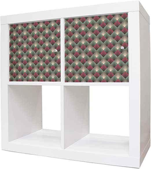 Muebles adhesivos para cómoda de Ikea Expedit/Kallax ...