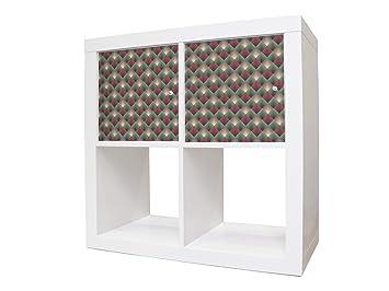 Cómoda De Adhesivos Para Estantería Muebles Con Ikea Expeditkallax TZPXiOku