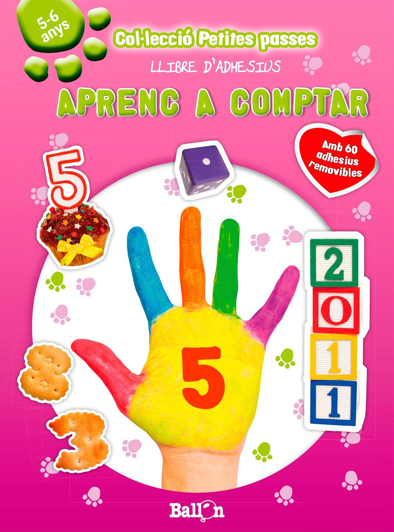 Download Aprenc a comptar. Petites passes llibres d'adhesius pdf epub