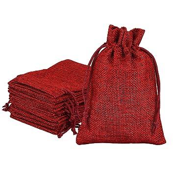 Juego de 30 sacos de yute para calendario de Adviento, bolsa ...