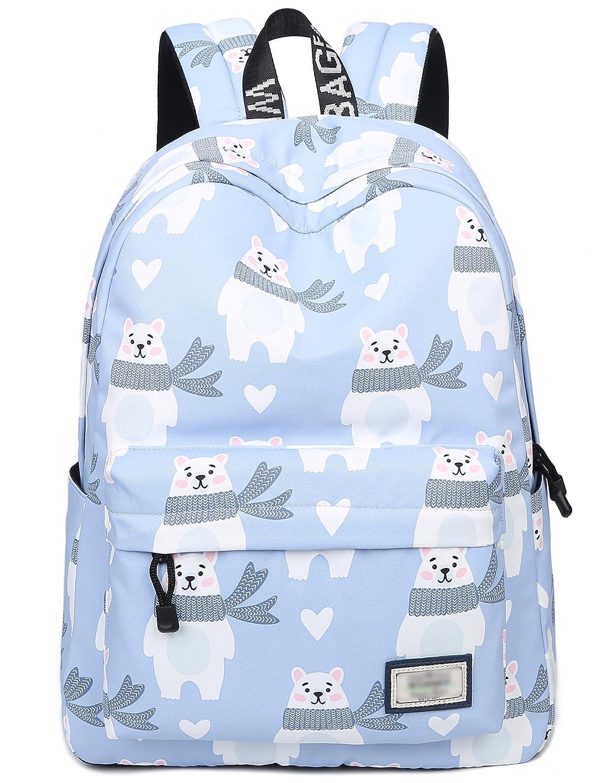 192908de4b1 Amazon.com   Bookbags for Teens, Cute Bear Laptop Backpack School Bags  Travel Daypack Handbag by Leaper   Kids  Backpacks