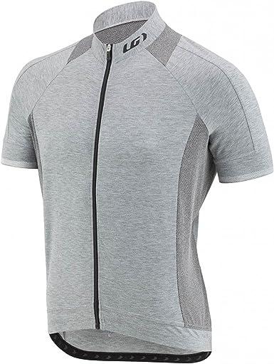 Full Zip Cycling Jersey Short Sleeve Louis Garneau Men/'s Lemmon 2 Lightweight