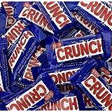 Nestle Crunch Bar, Creamy Milk Chocolate Crisped Rice, Snack Fun Size (Pack of 2 Pounds)