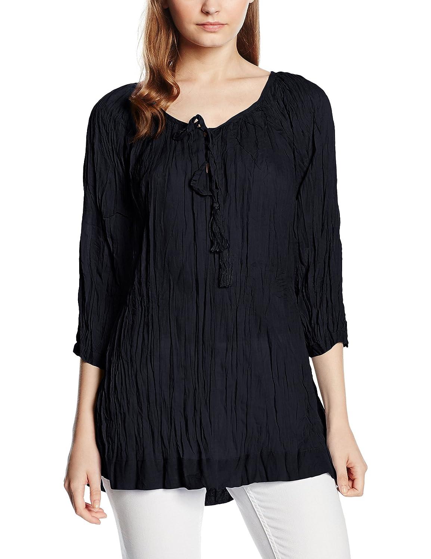 Fransa Women's Arville 1 Blouse 3/4 Sleeve Blouse: Amazon.co.uk: Clothing