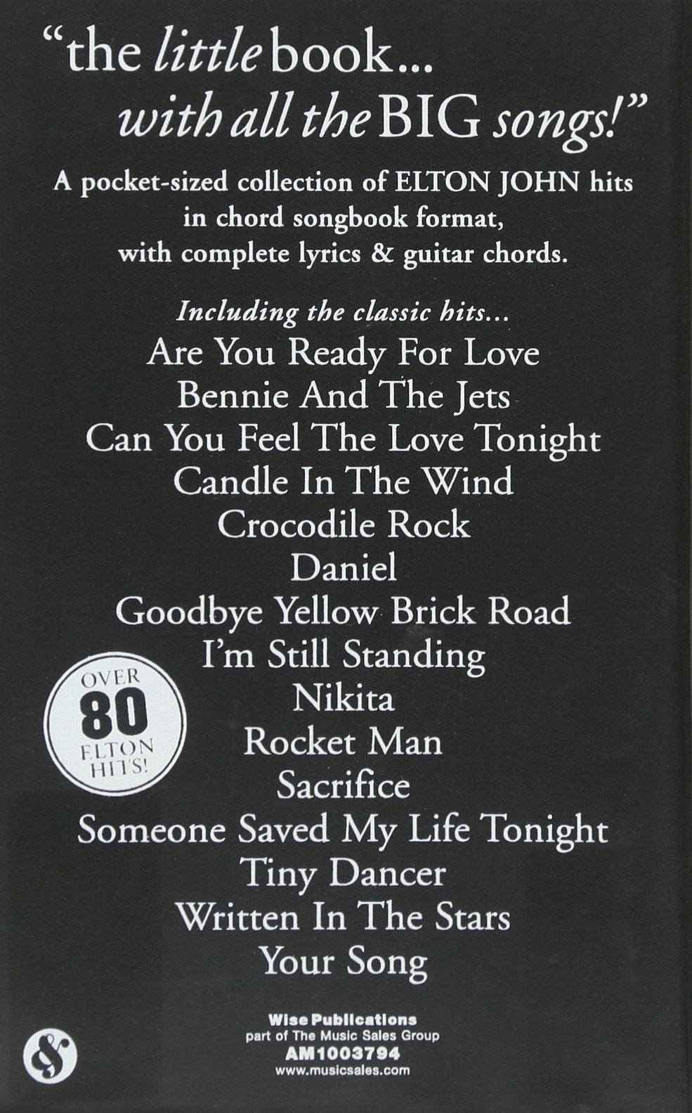 Goodbye yellow brick road guitar chords image collections guitar amazon elton john the little black songbook chordslyrics amazon elton john the little black songbook chordslyrics hexwebz Choice Image