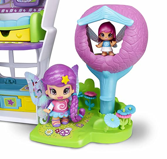 Amazon.com: Pinypon Fairy Secrets Hide Out Escondite de Hadas: Toys & Games