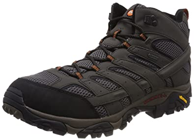 Merrell Moab 2 Mid GTX - Chaussures de Randonnée Hautes Homme - Marron  (Beluga)