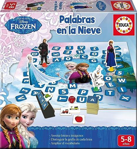 Educa Borrás - Aprendo A…Formar Palabras en la Nieve, Juego Educativo (16378): Amazon.es: Juguetes y juegos