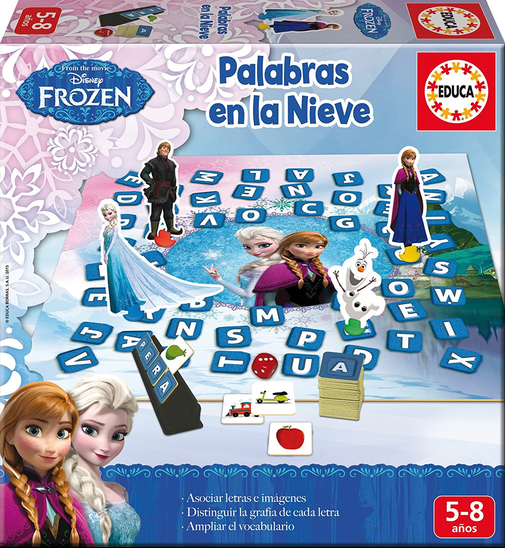 Educa Borras Frozen Set Especial 8 En 1 Juego De Mesa 16386