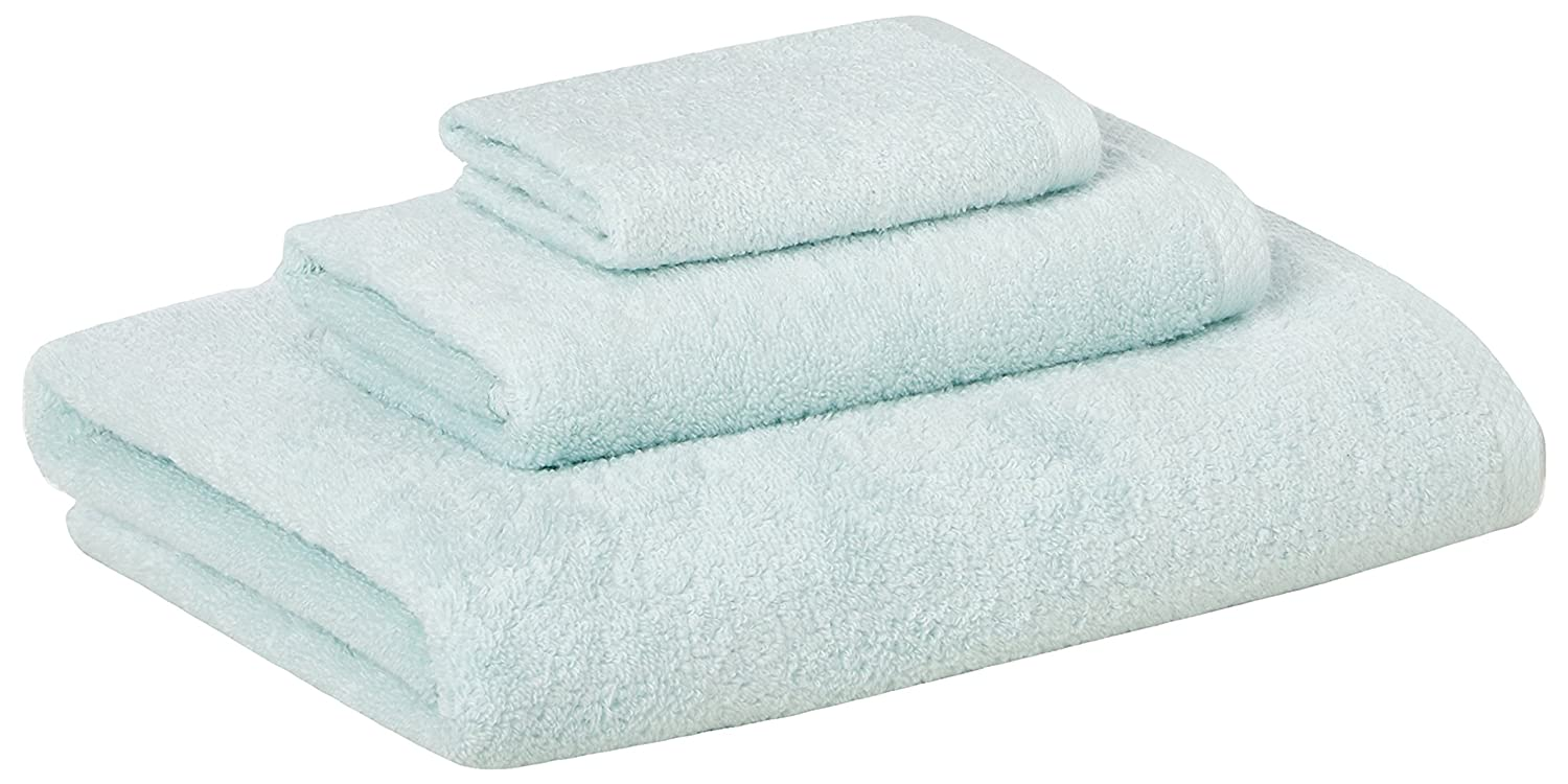 AmazonBasics 3 Piece Cotton Bath Towel