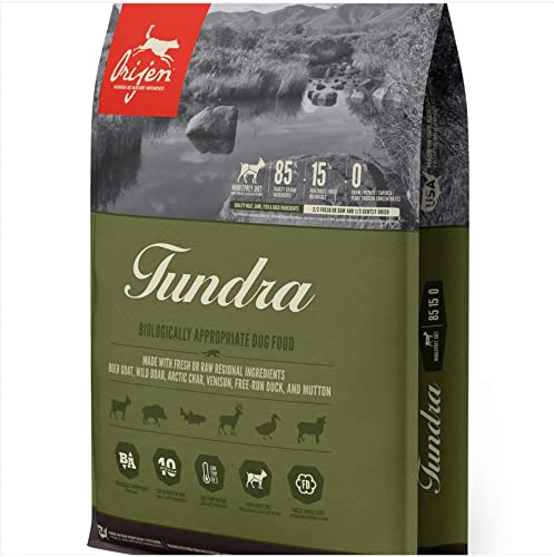 Orijen Tundra Biologically Appropriate Dry Dog Food