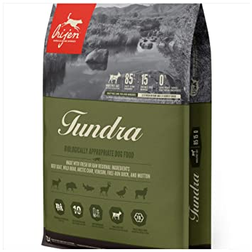 Buy Orijen Tundra 4 4lb Wholeprey Grain Free Dog Food Online At