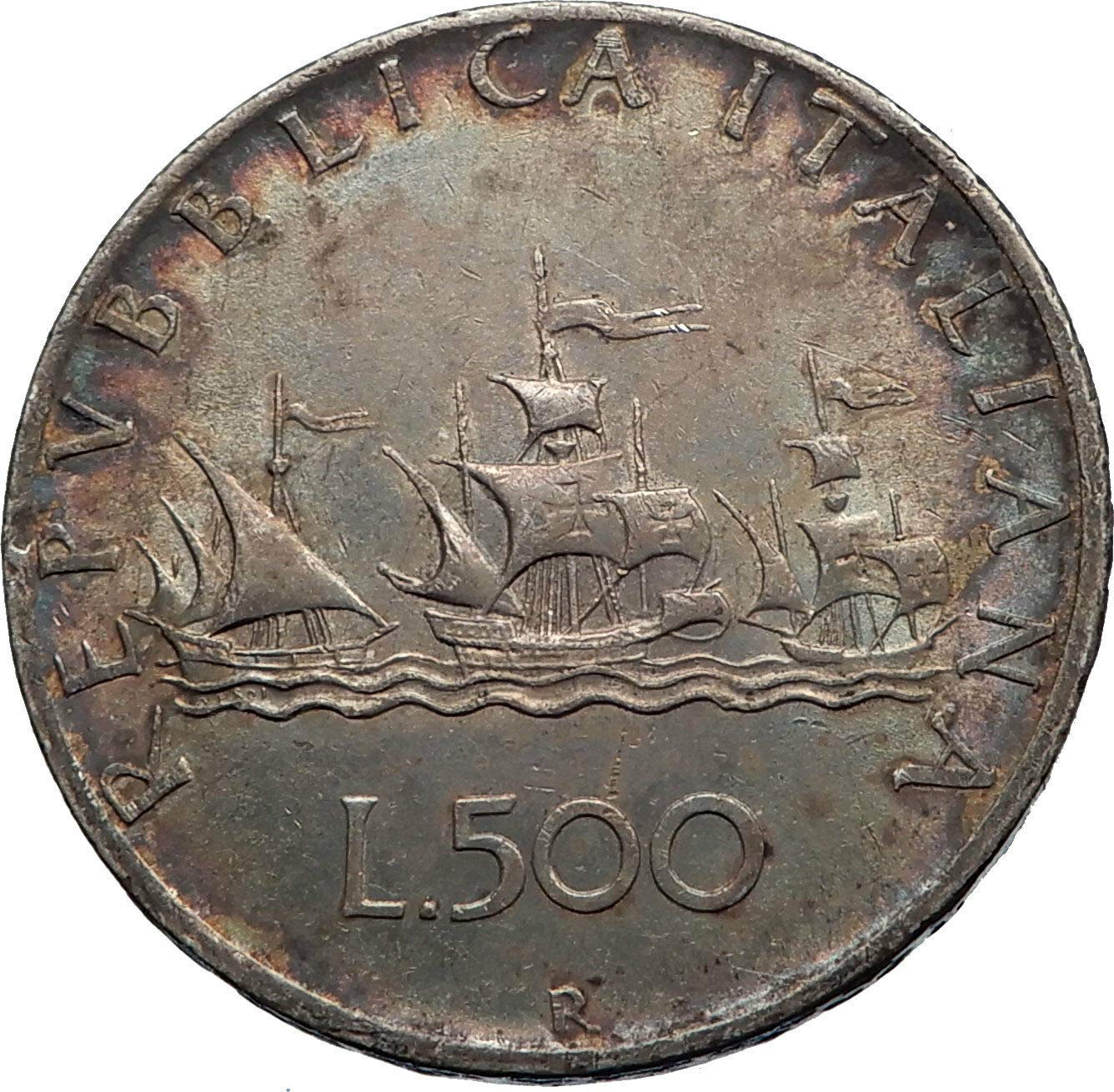1958 IT 1958 ITALY - CHRISTOPHER COLUMBUS DISCOVER Americ ...