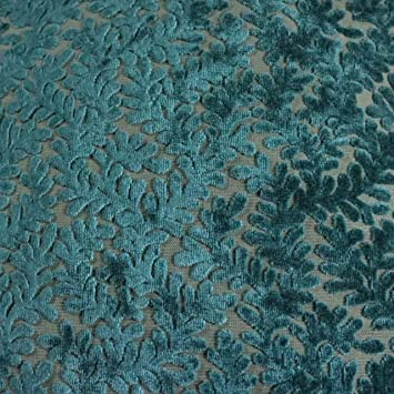 Amazon Com Romeo Burn Out Velvet Upholstery Fabric By The Yard
