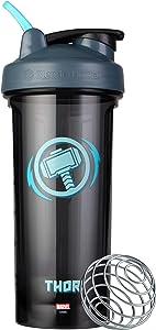 Blender Bottle Marvel Comics Pro Series Shaker Bottle, 28-Ounce, Thor Hammer