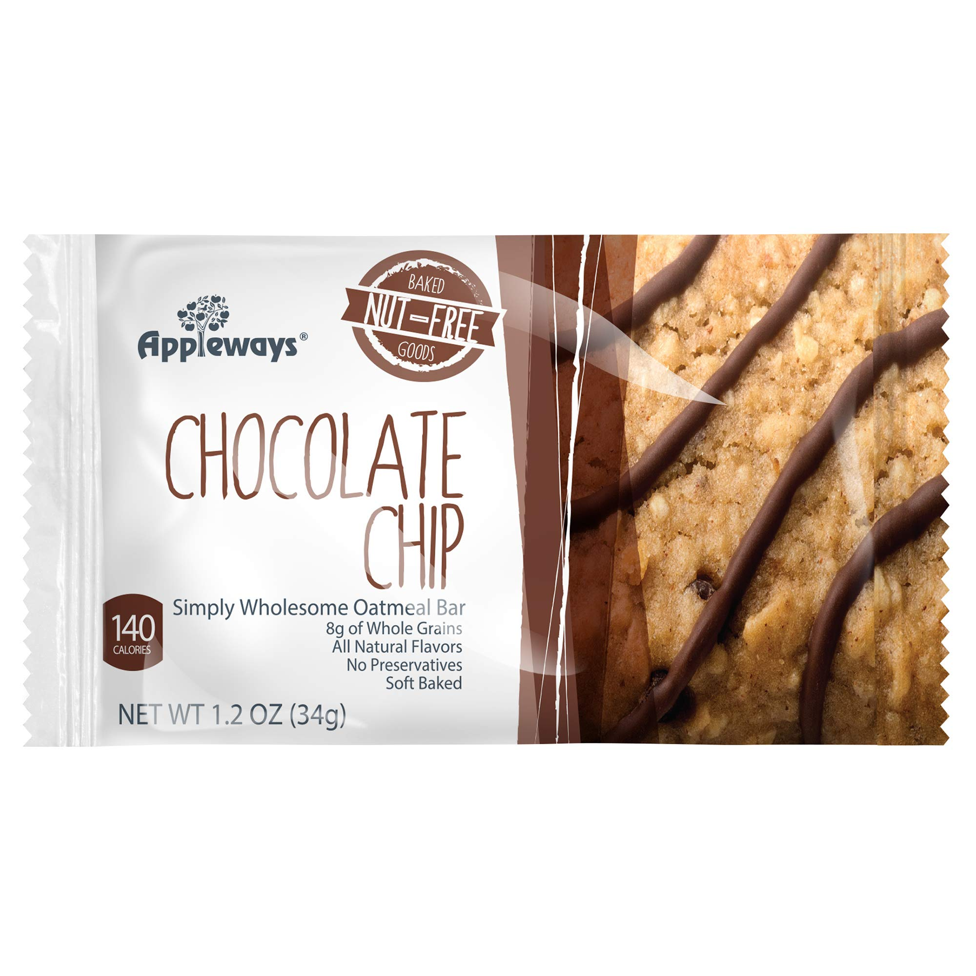 Darlington Farms Oatmeal Chocolate Chip Bar, 1.2 Ounce - 216 per case.