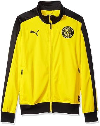 352d79e173d4 PUMA Men s BVB T7 Track Jacket at Amazon Men s Clothing store
