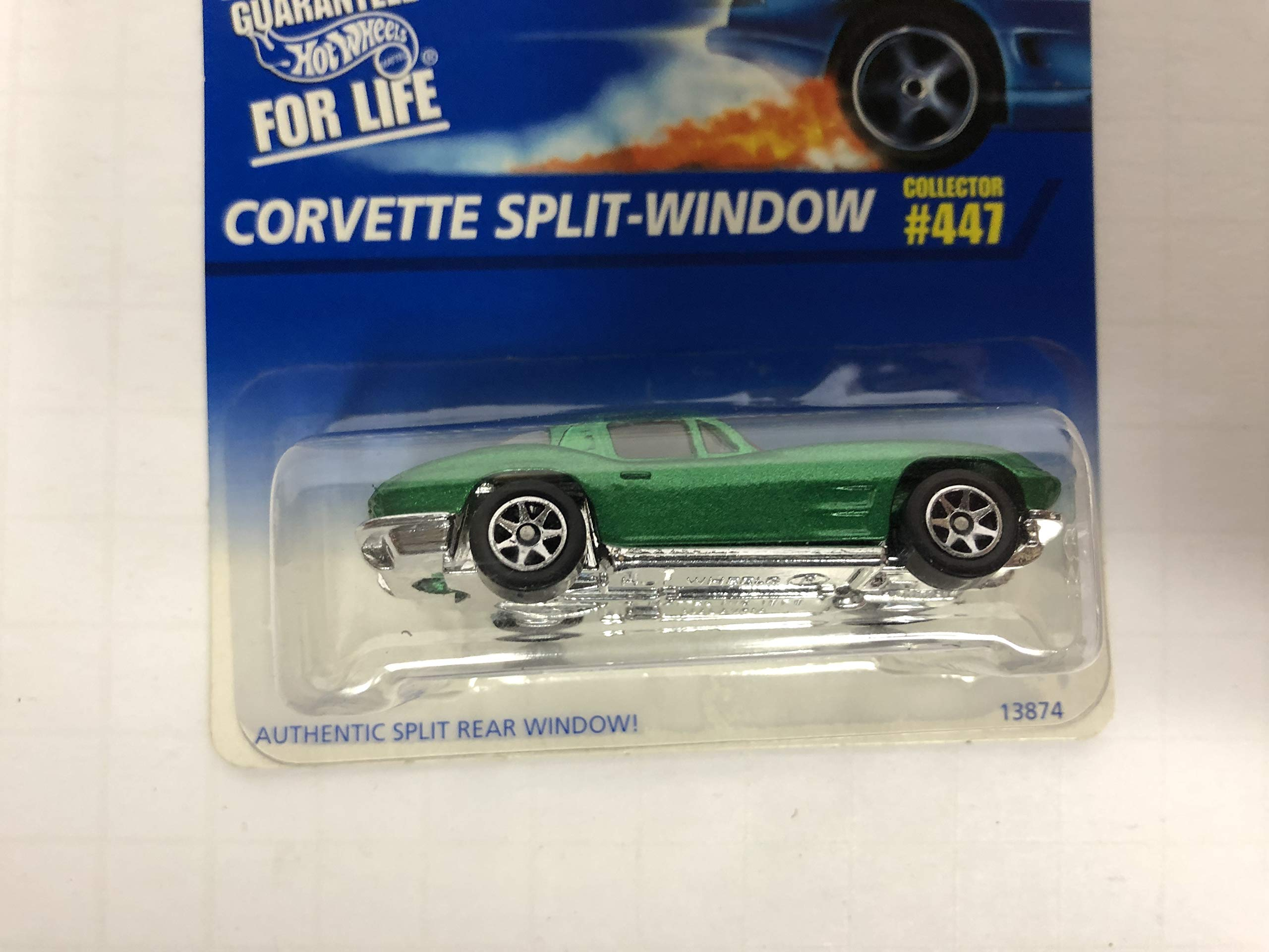 CORVETTE SPLIT WINDOW 1996 Hot Wheels No. 447 diecast 1/64 scale car