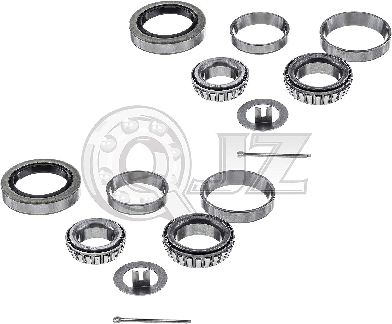 Fits #84 Spindle w L44649 L68149 Bearings 84545BX Trailer Hub Kit
