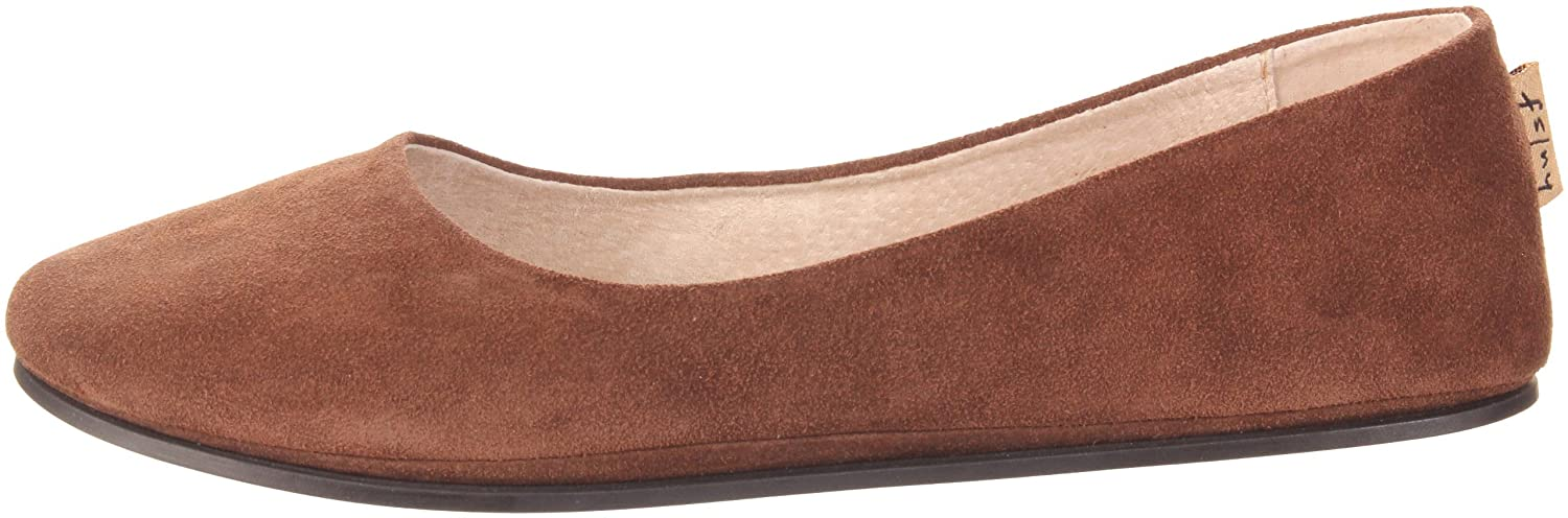 French Sole FS/NY Women's Sloop Ballet Flat B0012EWHWC 6 B(M) US|Chocolate Suede