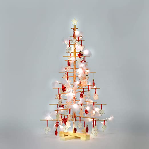 Amazon.com: XMAS xmas3 SKU202 Christmastree, M 125, Nature