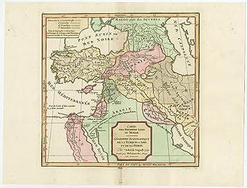 Antique map turkey persia egypt palestine armenia de vaugondy antique map turkey persia egypt palestine armenia de vaugondy gumiabroncs Gallery