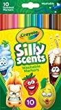 Crayola 10 Ct Silly Scents Washable Scented Markers