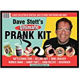 Dave Stott's Ultimate Prank Kit Featuring Rattlesnake Eggs, Bone Cracker, Snake Prank, Hand Buzzer, Fart Prank, Slush Powder, Instructional Videos and More!