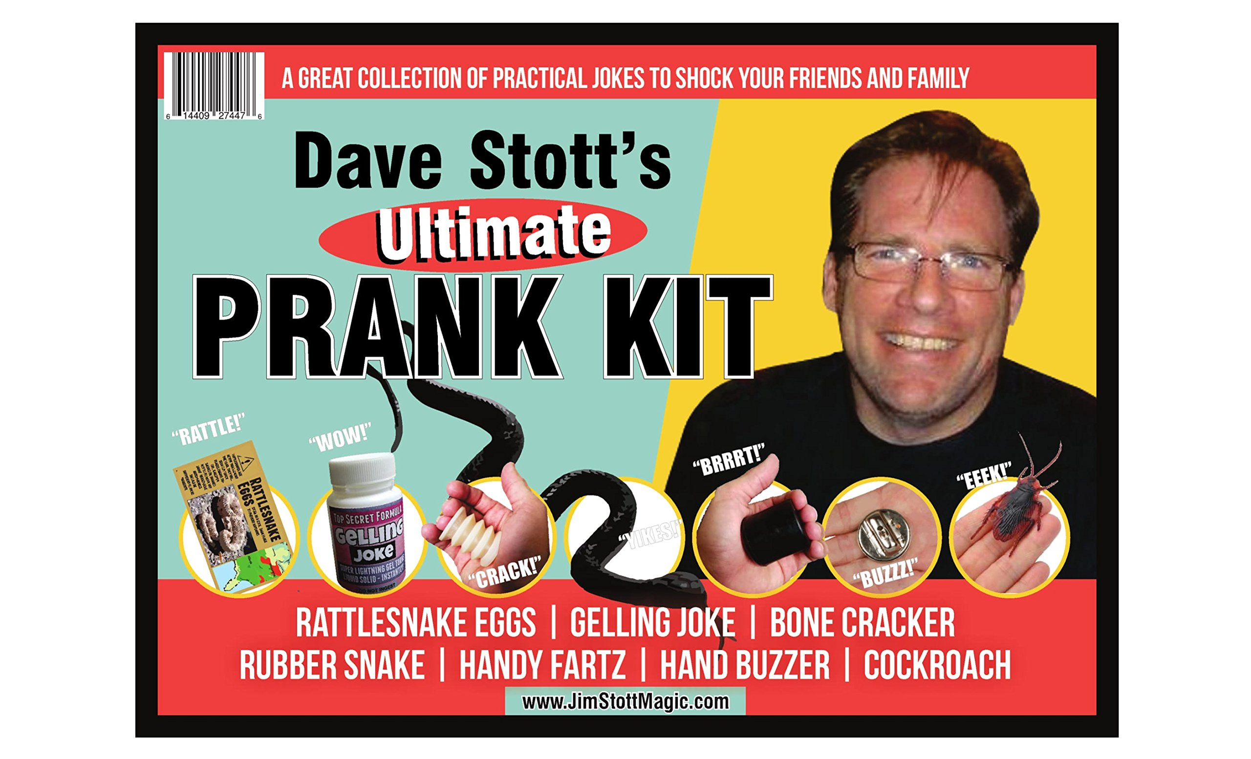 Fun Time Products Dave Stott's 'Ultimate Prank Kit', Funny Gag Gifts for Men, Women, and Kids by Fun Time Products (Image #1)