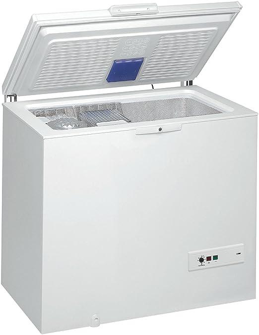 Whirlpool WHM31112 - Congelador (A + +, 0.85 kWh/24h, 312 kWh, 42 ...