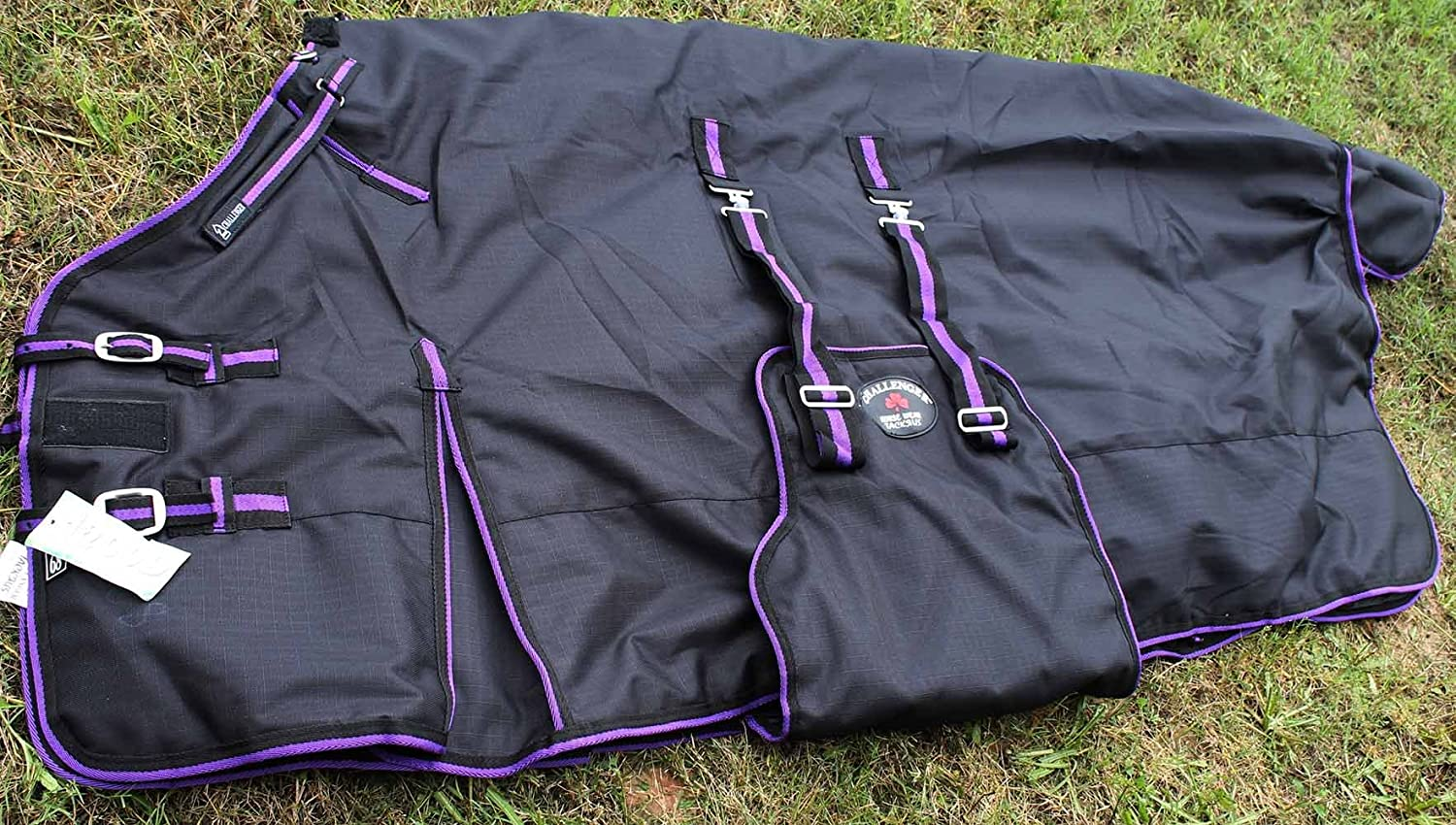 CHALLENGER 72 1200D Turnout Waterproof Horse Tough Winter Blanket Heavy 565G TackRus