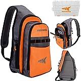KastKing Pond Hopper Fishing Sling Tackle Storage Bag – Lightweight Sling Fishing Backpack - Sling Tool Bag for Fishing Hiking Hunting Camping