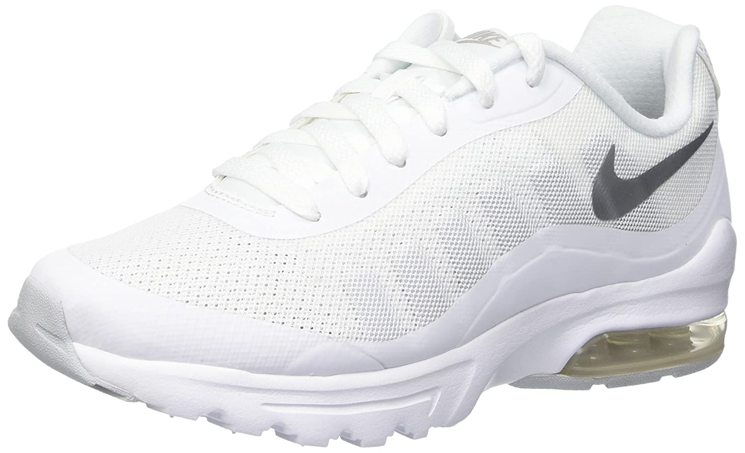 Nike Damen Air Max Invigor Gymnastikschuhe Elfenbein (White/metallic ...
