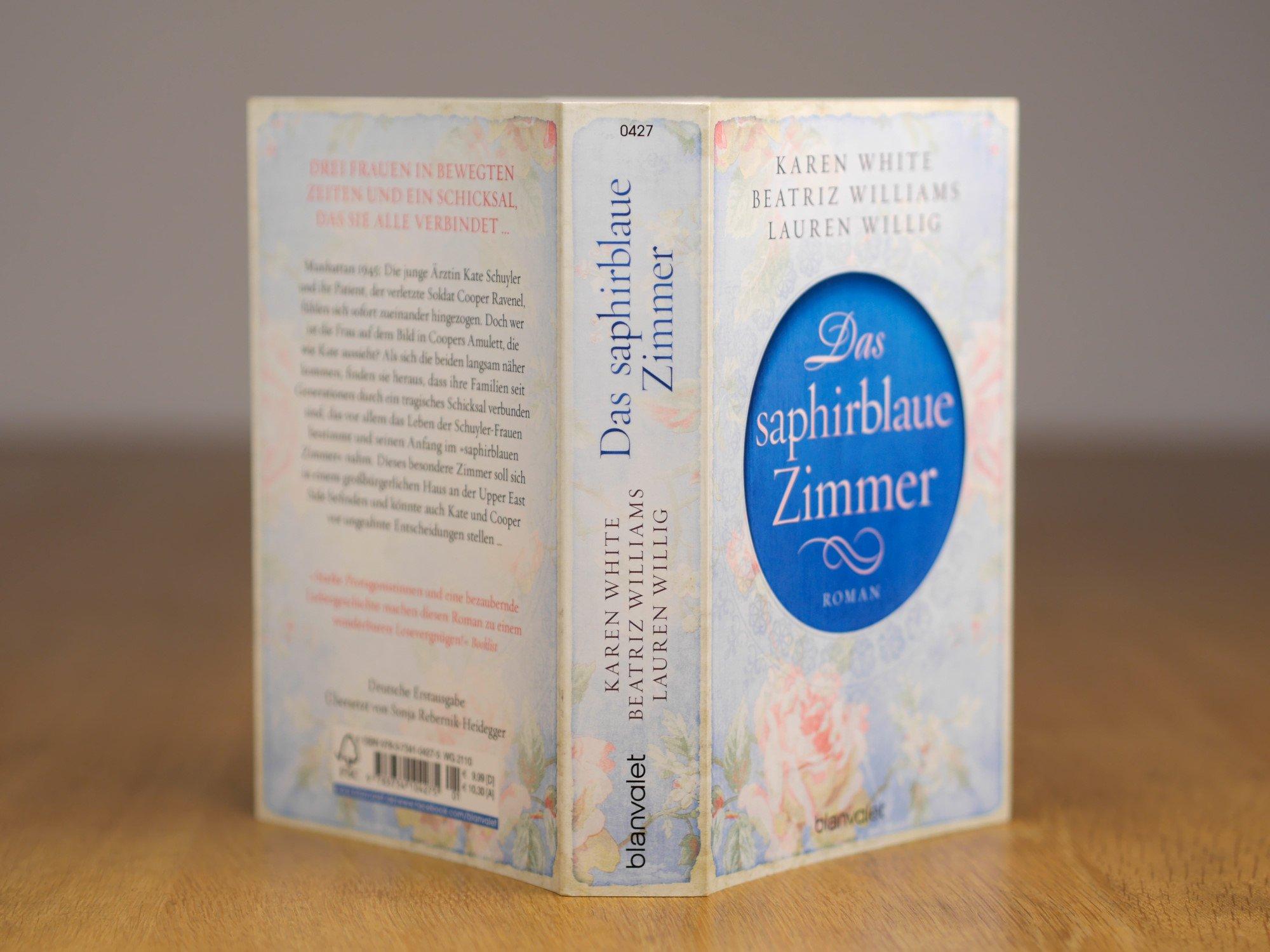 Das saphirblaue Zimmer: Roman: Amazon.de: Karen White, Beatriz ...