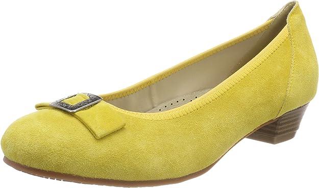 TALLA 36 EU. Hirschkogel 3004550, Zapatos de tacón con Punta Cerrada para Mujer