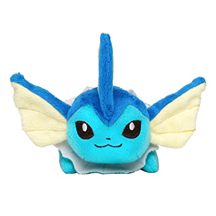 Pokemon Center Original Kuttari Stuffed Vaporeon
