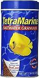 TetraMarine Saltwater Granules 7.94 Ounces, Balanced Diet For Medium To Large Marine Fish (16348)
