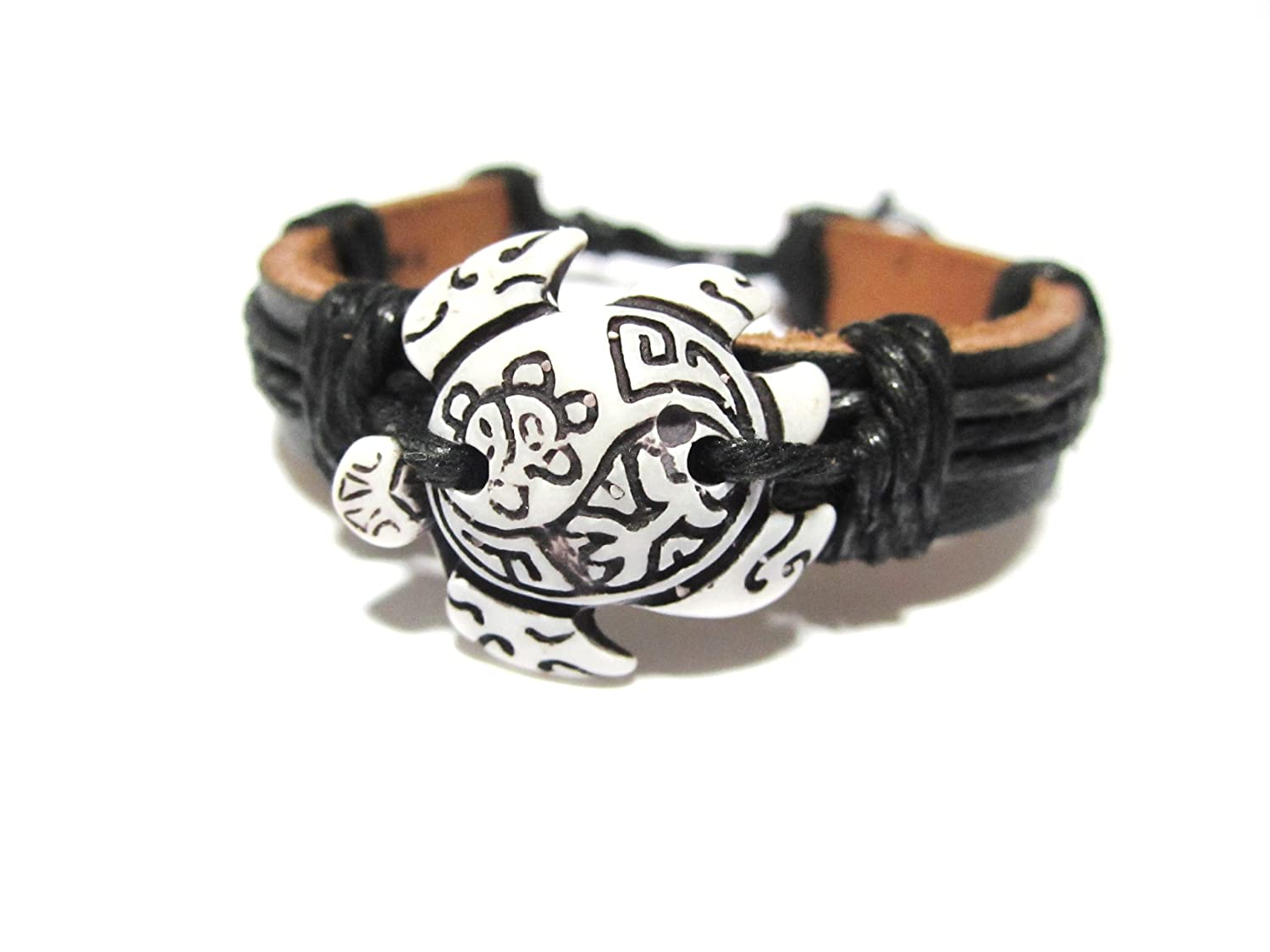 bracelet products sea turtle honu nautical beads img sun